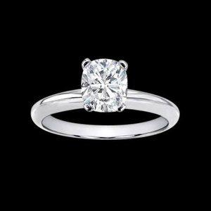 Jewelry - 2.51 ct. cushion diamond solitaire ring jewelry